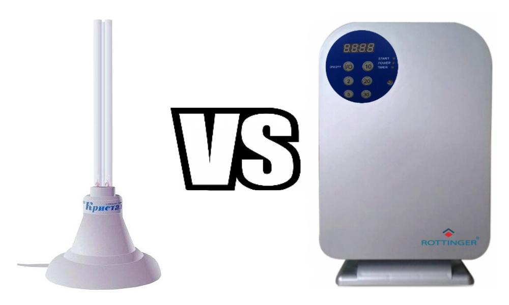 Озонатор или кварцевая лампа - что лучше?